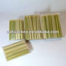 duble-pronged flat bamboo stick