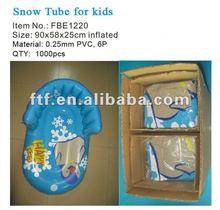 2012 off season product, winter HAPPY FEET penguin snow tube for kids