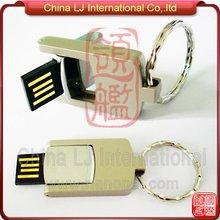 new style promotional usb gift fashionable mini metal swivel USB pen drive