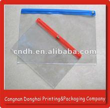 Slider Zip lock Plastic Pouch