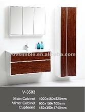 solid wood bathroom cabinet,wall mount bathroom vanity unit with amazing price!!!