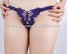 butterfly shape sexy woman underwear