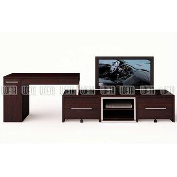 Modern Tv Stand Withputer Desk