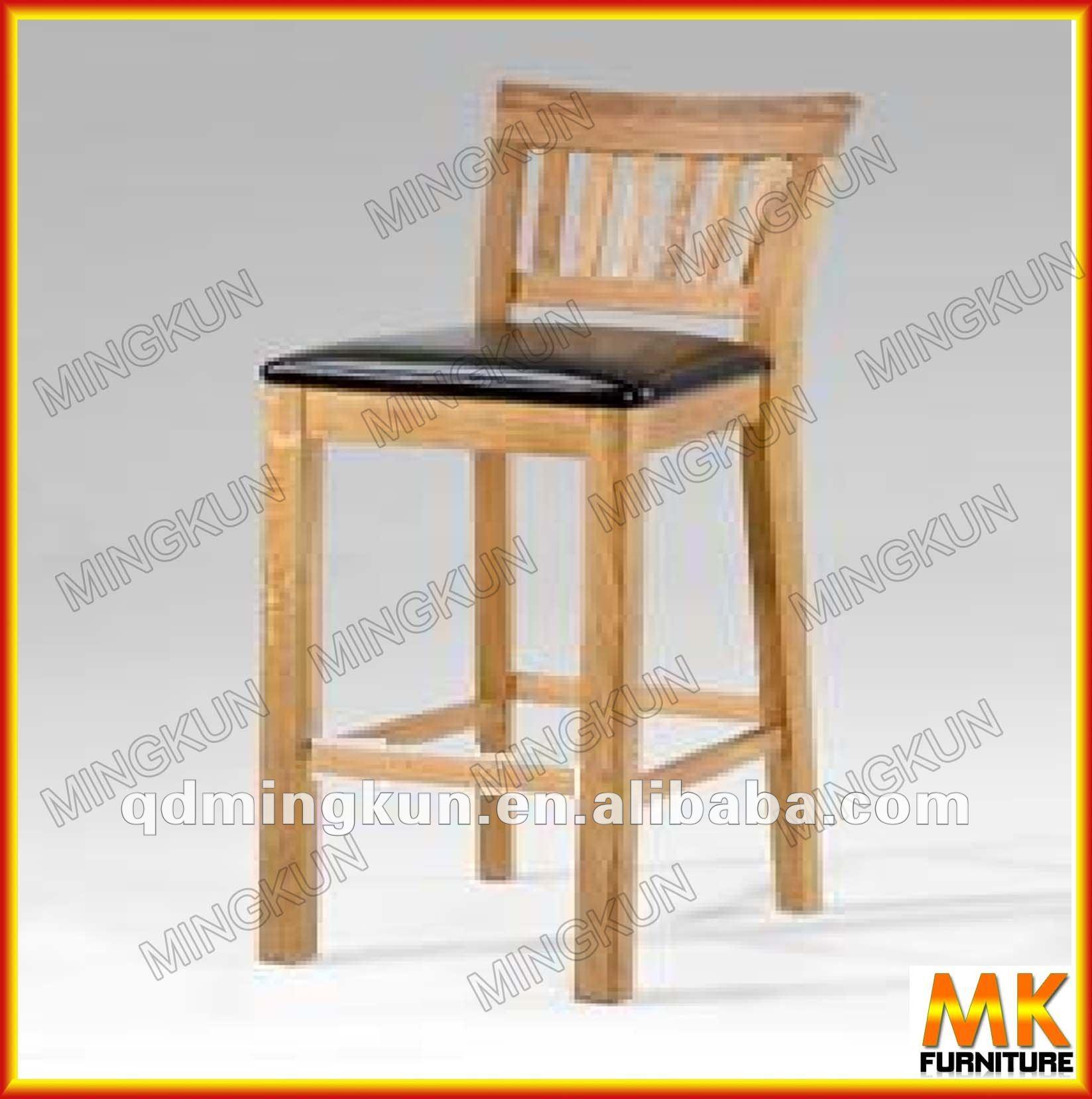 Madeira banqueta de couro / alta fezes tamanho Mesas de madeira ID do  #C3A908 1647x1657
