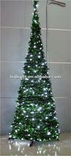 7ft LED Fiber Optic Christmas Tree