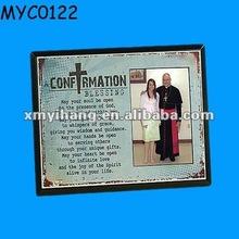Frame da foto da resina confirmação lembrança cristãs presentes