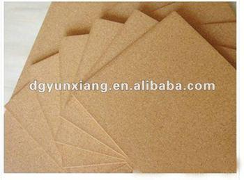 2012 Hot Selling Natural Cork Sheet