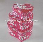 Heart Shape Paper Packaging Gift Box