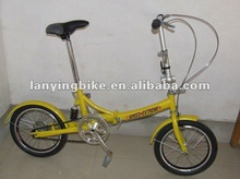 2012 popular smallest foldable bicycle