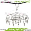 Round Stainless Folding Clothing Metal Hangers