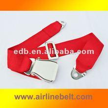 Luxury auto seat belt