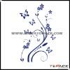 Flower Design Self Adhesive Wallpaper