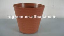bamboo fiber bio and eco garden pot
