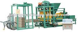 NEW!!! automatic QTJ4-25 CEMENT/soil brick making machine