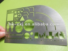 Irregular Shape Metal card