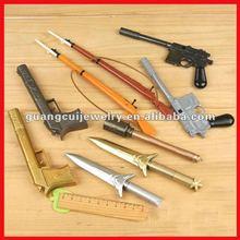 fashion gun and sword pens