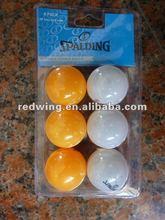 Table Tennis Balls,Spalding,6pcs PingPong Balls