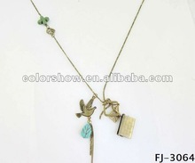 2012 new design gold necklace