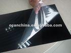 glossy black rigid PVC sheet