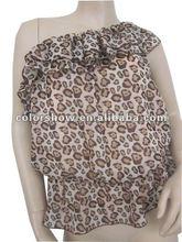 2012 Women Printing One Shoulder Fashion Blouses
