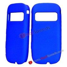 Plastic Matte Surface Hard Phone Case for Nokia C7(Blue)