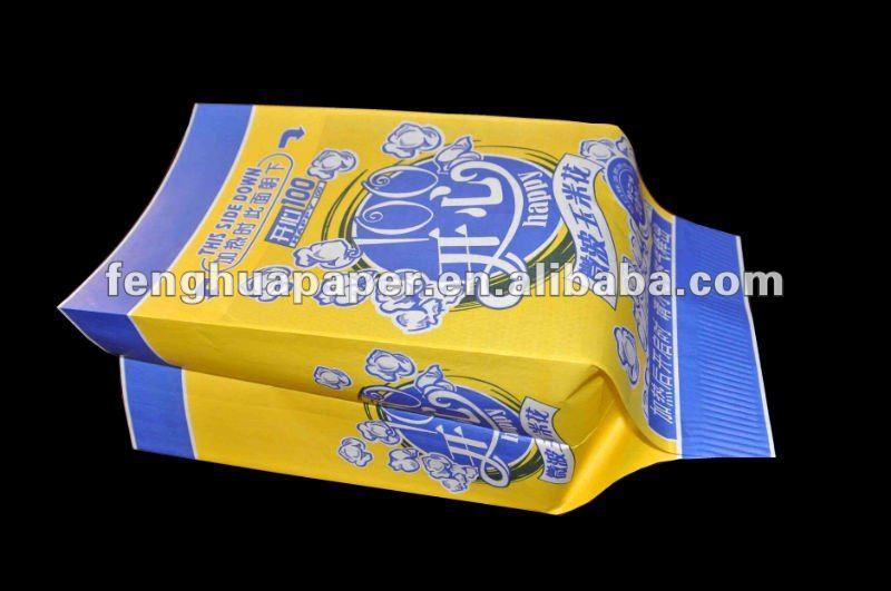Bag Microwave Popcorn Popcorn Paper Bag