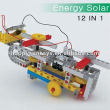 2012 Leading DIY Solar Energy Vehicle Blocks 156pcs L06050
