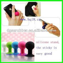 New design Mini silicone mobile phone support