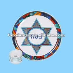 ceramic sender plates for 2012 passover celebration item