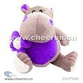 Hipopótamo suave juguete