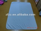 antipilling polar fleece airline blanket with embroidary
