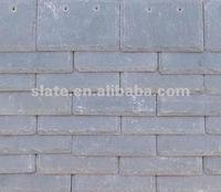 grey color roof slate tile