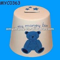 Ceramic paint piggy bank