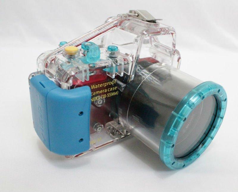High quality underwater camera housing for sony nex3 18 55mm