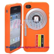 camera case funny silicone case for iphone 4
