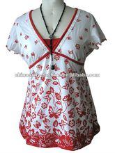 2012 New design mature women's shirt