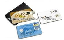 thin wallet credit card usb thumb drive