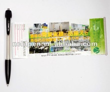 Promotional roller banner custom pen