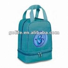 polyester picnic cooler bag,designer lunch bags for women,gel cooler bag for men