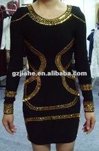 2012 new design and pupolar evening dress for muslim