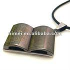 Christian Religion Confucian classics pendant titanium steel necklace jewelry souvenir purchasing agent