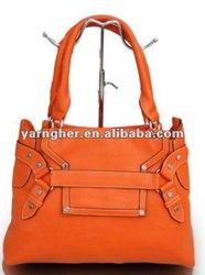 2012 fashion pu leather bags for women