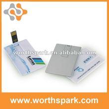 4gb 8gb 2gb flash memory card/credit card usb stick