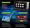 Car PC DVD with 7 Inch Detachable Android 2.3 Tablet Panel with 3G WiFi GPS DVB-T