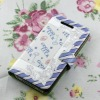 cute and lovely leather wallet case pouch cover for apple iphone 4g 4s