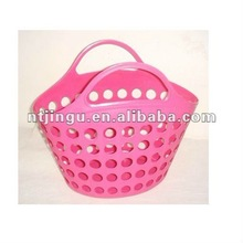 Mult-purpose plastic shopping baskets