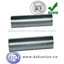 Full thread tube Zinc, Nickel ,chromium plated