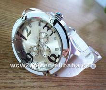 2012 newest original watch japan MOVT steel case back