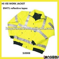 HI-VIS SAFETY WORKWEAR JACKET/ INDUSTRIAL WORKING JACKET