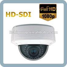 NISC / PAL Progressive Scan BLC / HSBLC Backlight Compensation IR LED CMOS Varifocal auto iris lens HD-SDI Camera